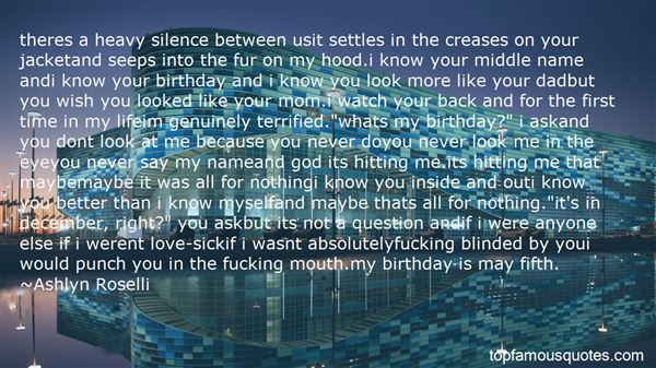 Quotes About Birthday For Myself