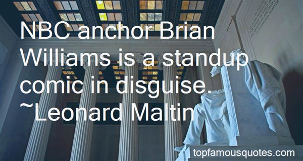 Quotes About Brian Williams
