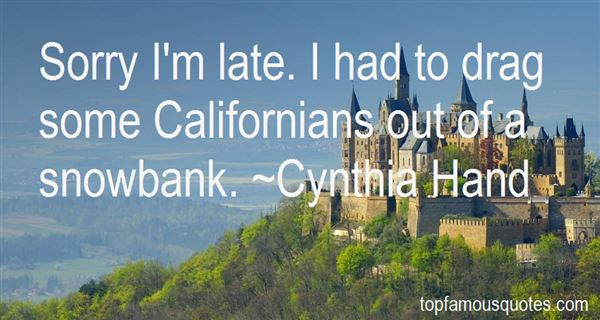 Quotes About Californians