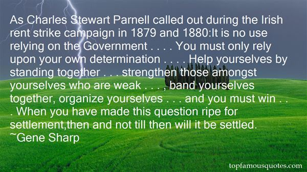 Quotes About Charles Stewart Parnell