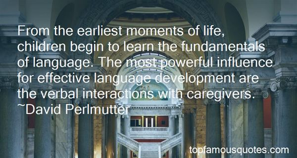Quotes About Child Language Development
