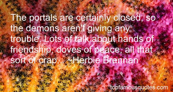 Quotes About Closed Hands