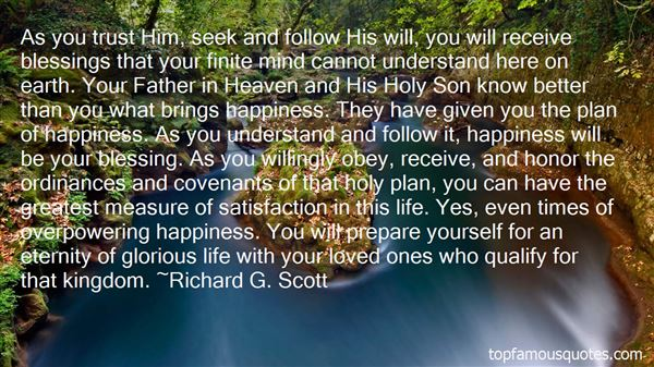 Quotes About Covenant Life