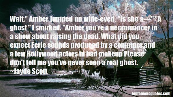 Quotes About Dead Actors