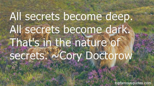 Quotes About Deep Dark Secrets