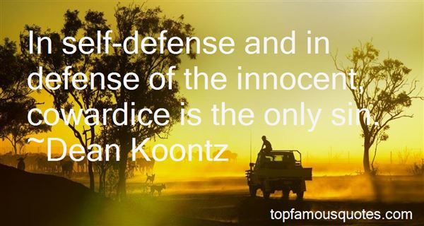 Quotes About Defense In War