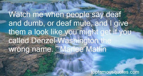Quotes About Denzel Washington