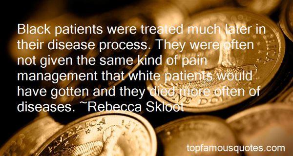 Quotes About Disease Management
