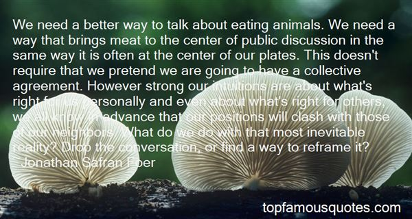 Quotes About Eating Animals