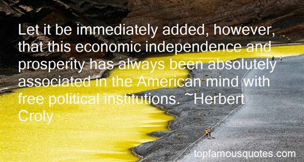 Quotes About Economic Institutions