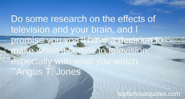 Quotes About Effects Of Television
