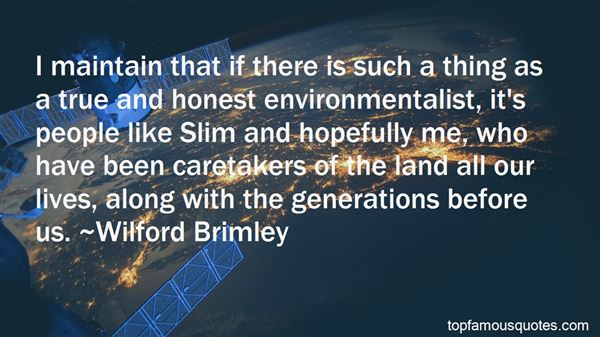 Quotes About Environmental Care