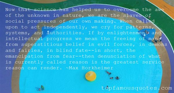 Quotes About Evil Forces