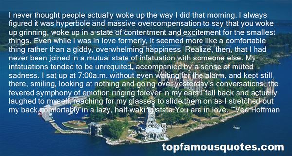 Quotes About Excitement In Love