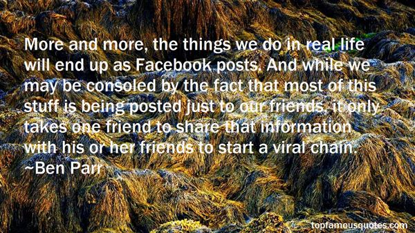 Quotes About Facebook Posts
