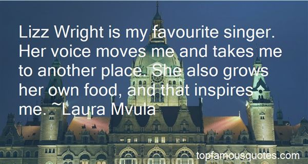 Quotes About Favourite Singer