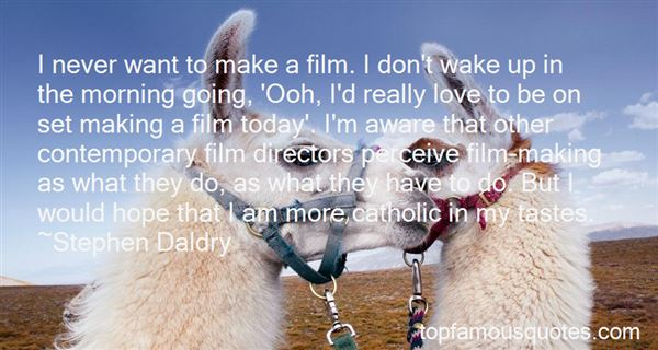 Quotes About Film Directors