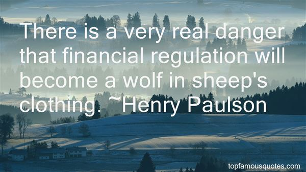 Quotes About Financial Regulation