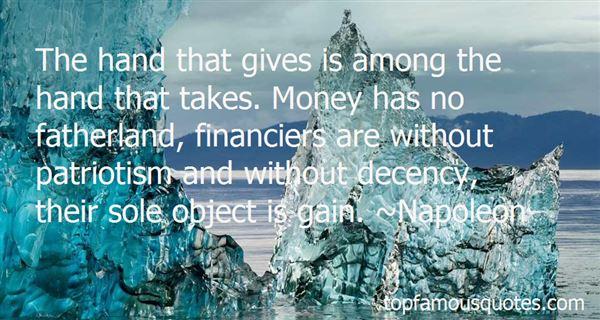 Quotes About Financiers