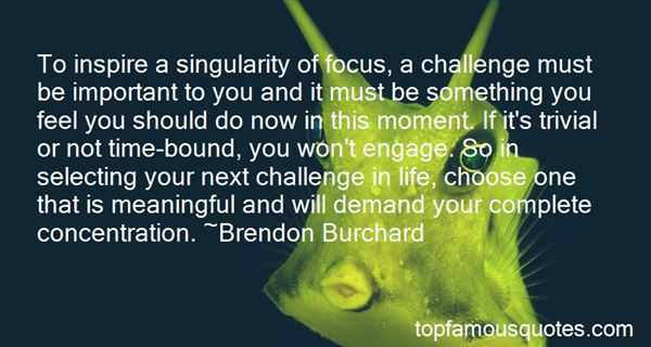 Quotes About Focus And Concentration