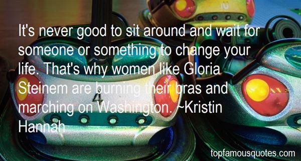 Quotes About Gloria Steinem