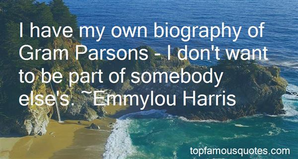 Quotes About Gram Parsons