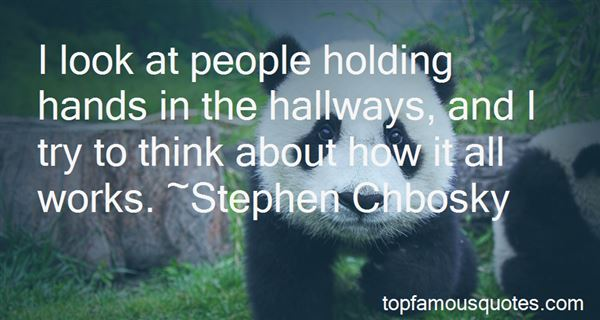 Quotes About Hallways