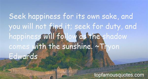 Quotes About Happiness And Sunshine
