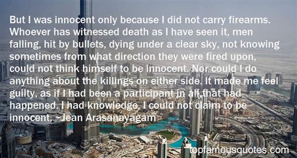 Quotes About Innocent Killings