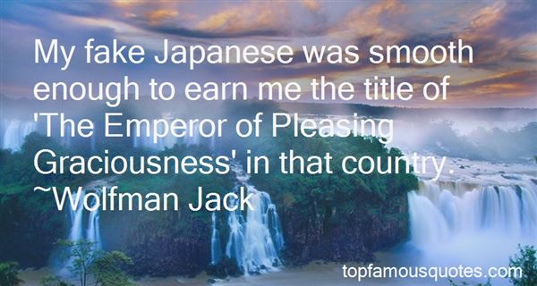 Quotes About Japanese Emperor