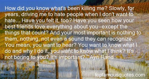 Quotes About Killing A Friend
