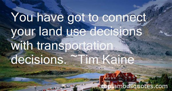 Quotes About Land Transportation