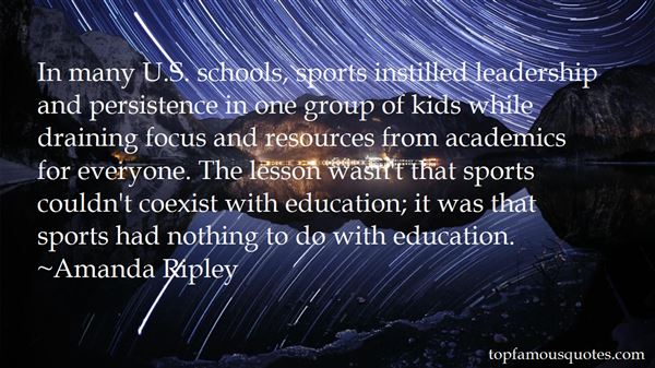Quotes About Leadership In Sports