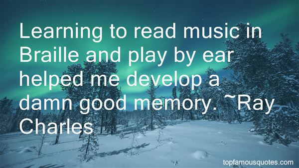 Quotes About Learning To Read Music