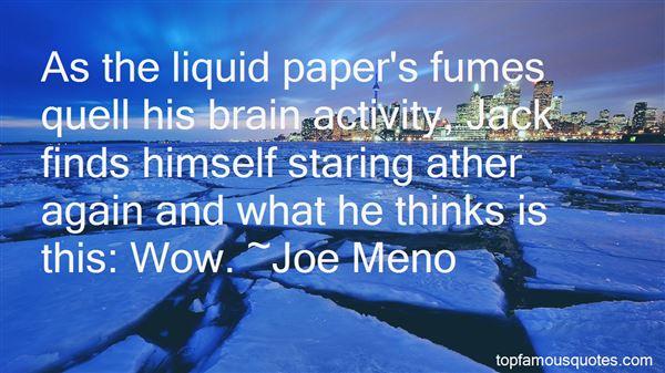 Quotes About Liquid Paper