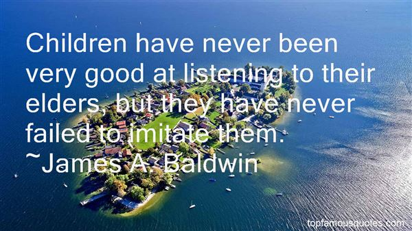 Quotes About Listening To Elders