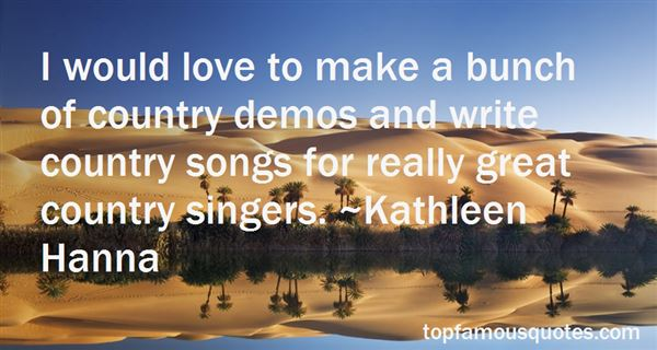 Quotes About Love Country Songs