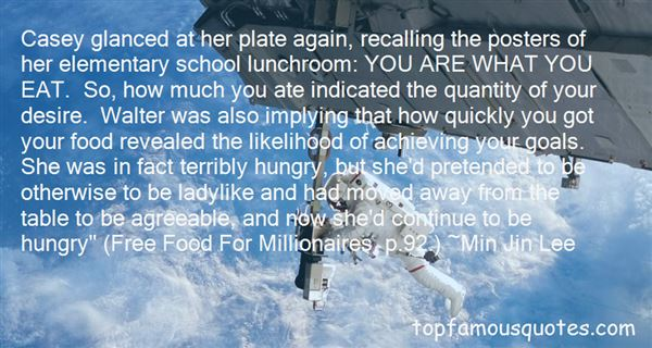 Quotes About Lunchroom