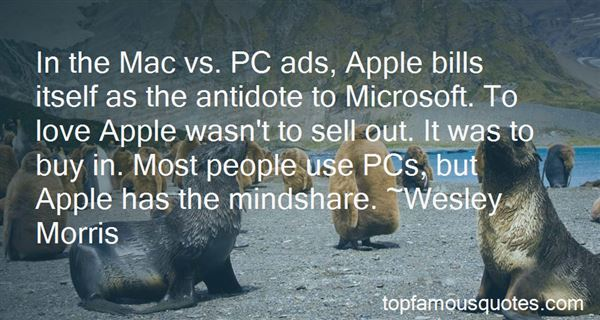 Quotes About Mac Vs Pc