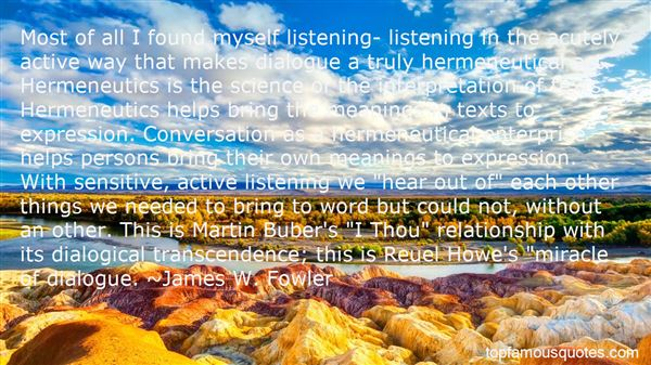 Quotes About Martin Buber