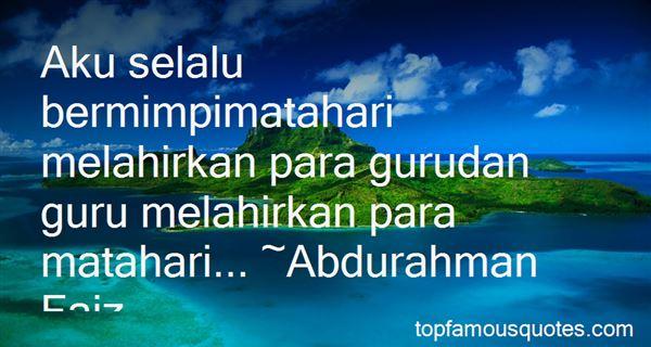 Quotes About Matahari