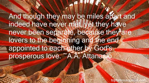 Quotes About Miles And Love