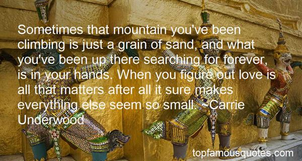 Quotes About Mountain Climbing And Love