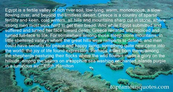 Quotes About Mountains And Peace