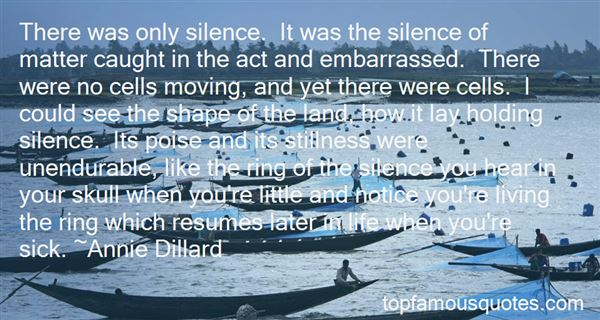 Quotes About Moving In Silence