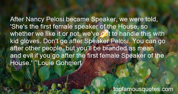 Quotes About Nancy Pelosi