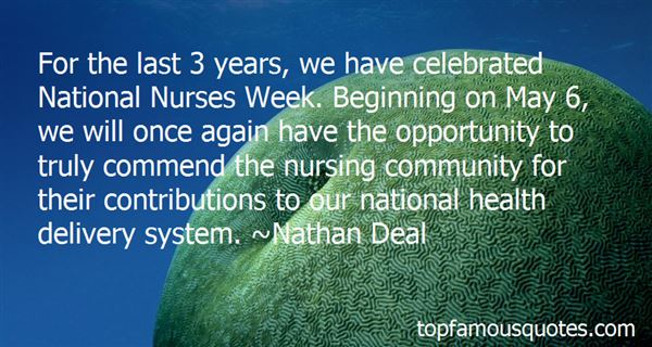 Quotes About National Nurses Week