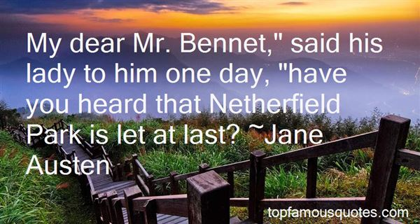 Quotes About Netherfield Park