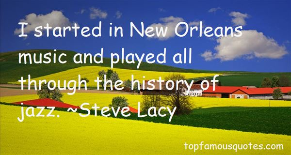 Quotes About New Orleans Music