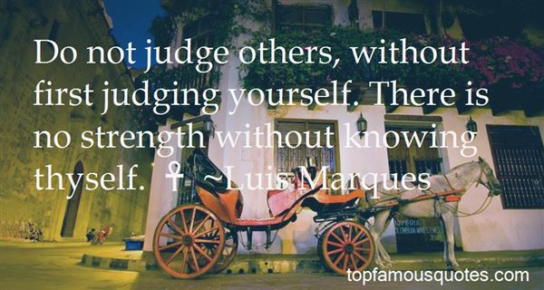 Quotes About Not Judging Yourself